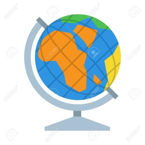 small resolution of table world globe vector icon earth model illustration stock vector 62357312