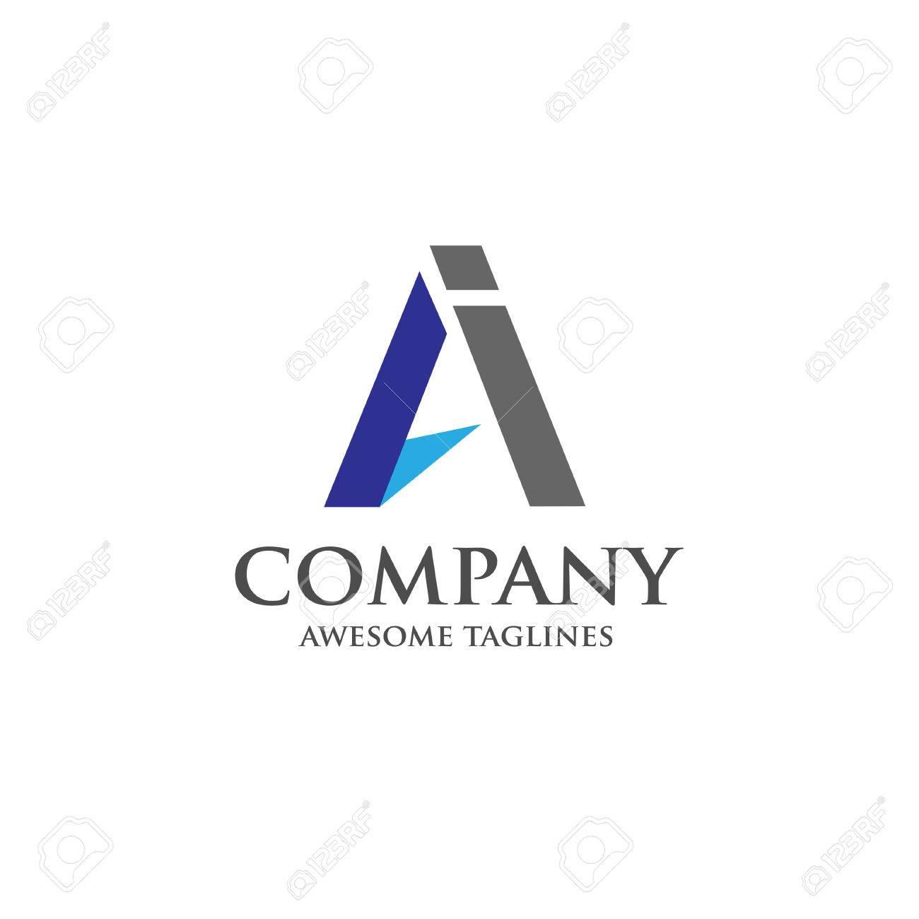 ai letter logo design