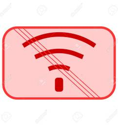bad internet connection sign no signal bad antenna no [ 1300 x 1300 Pixel ]