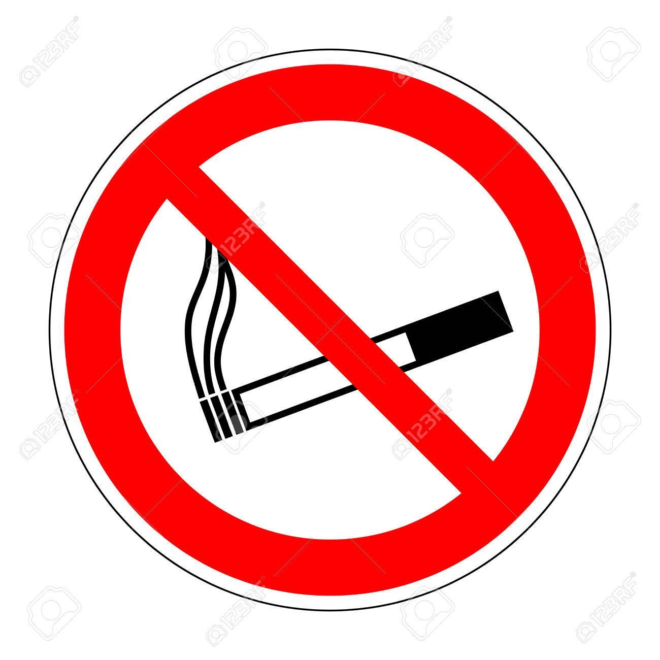 sign no smoking no
