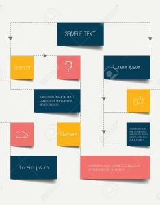 Flow chart scheme infographics elements vector design stock also royalty rh rf