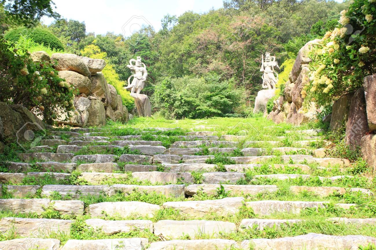 Aménagement Jardin Avec Escalier   Amenagement Escalier ...