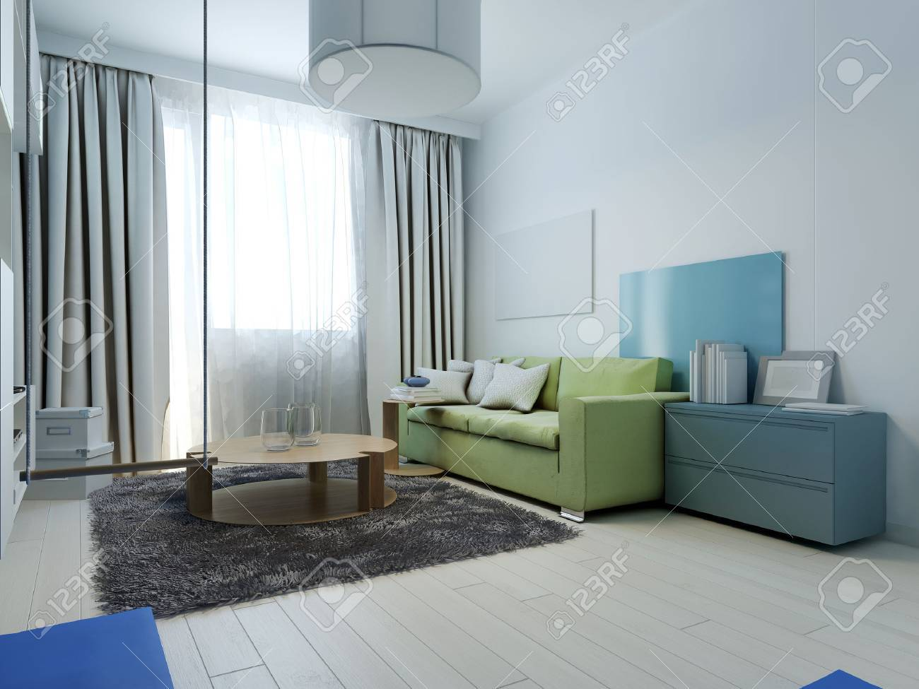 kitschy living room interior design for wall unit kitsch style with colored furniture the white walls are