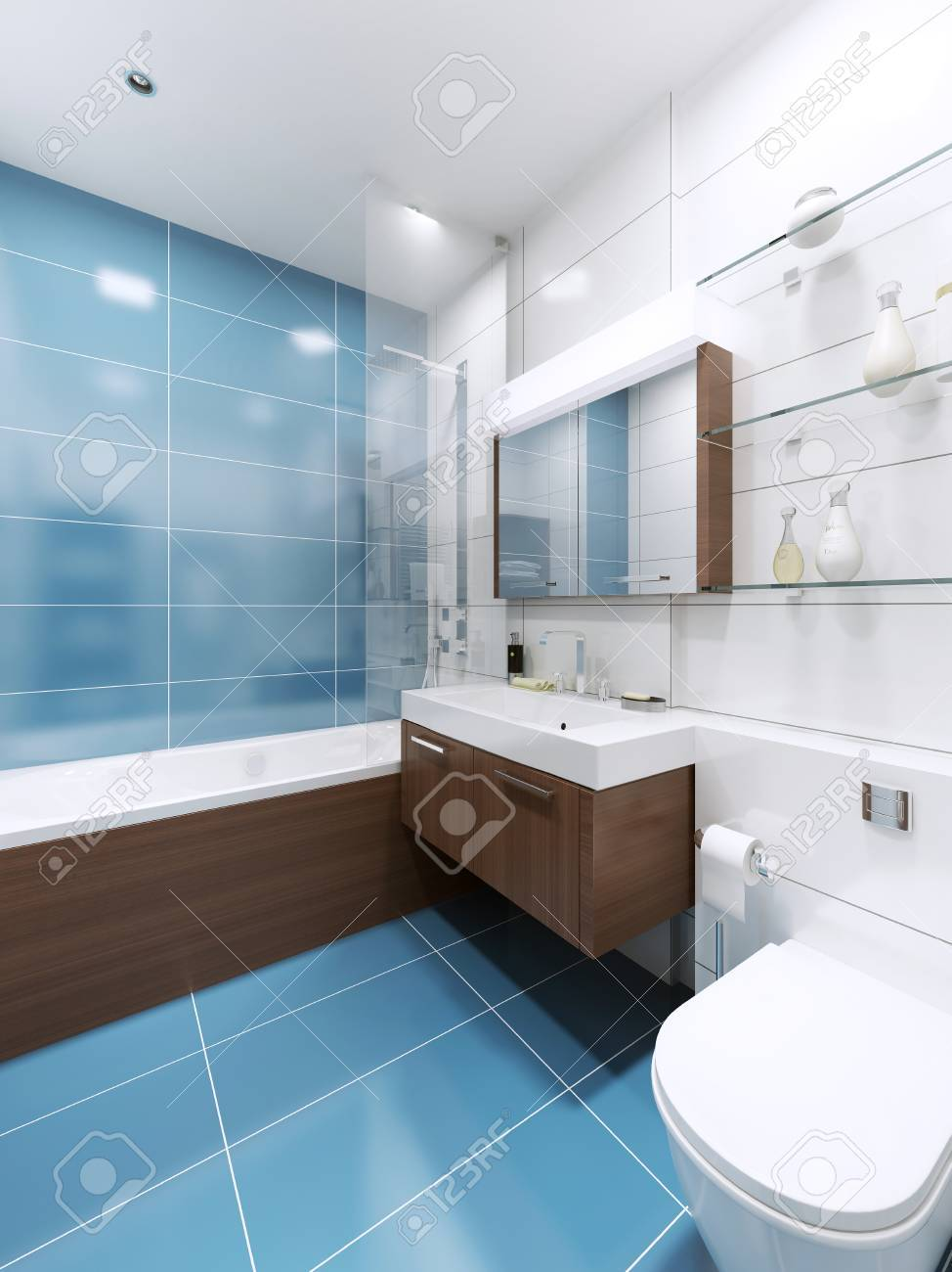 Bilder Badezimmer Blau Badezimmer Grau Blau Great Badezimmer
