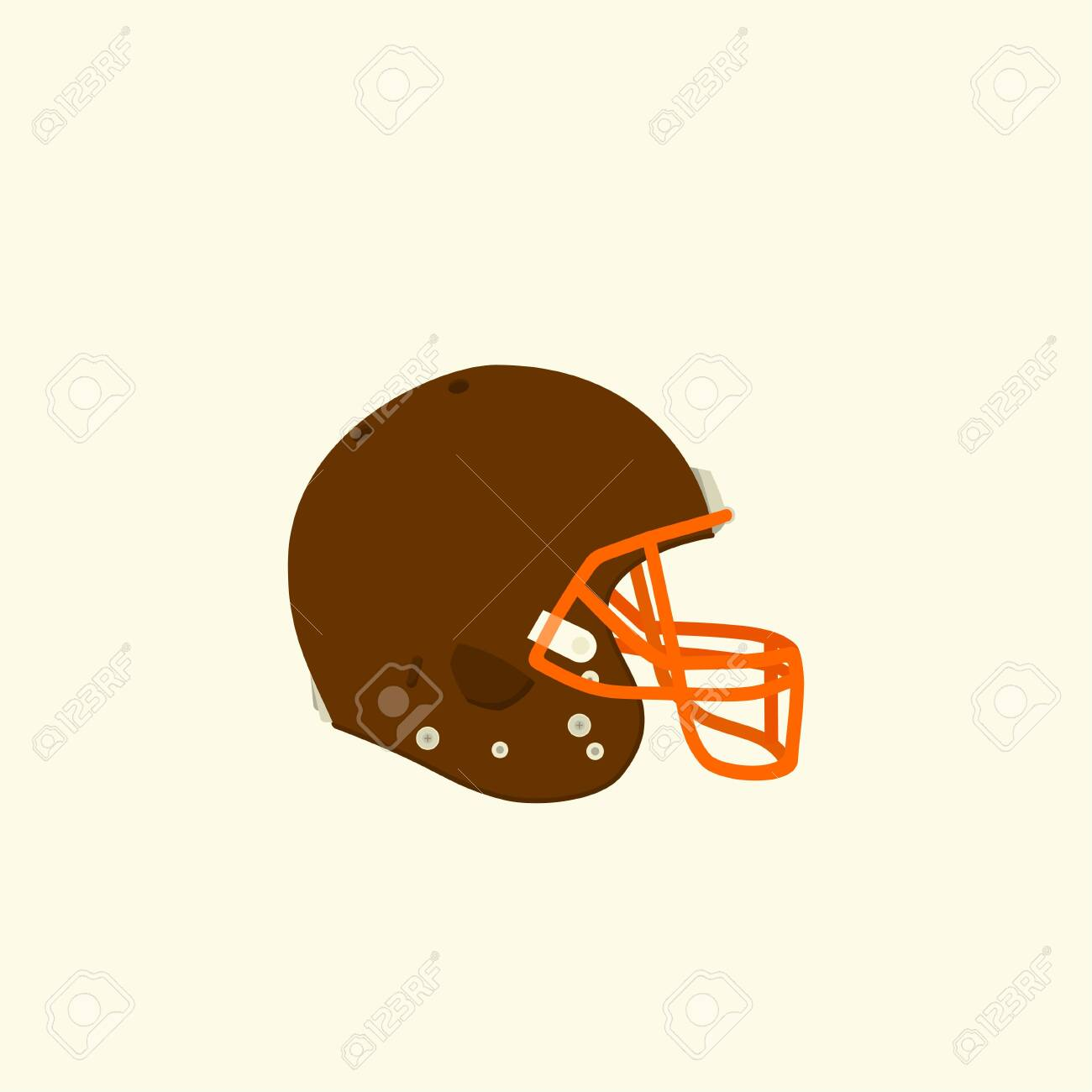 American Football Helmet Vector Illustration For Template Design Royalty Free Cliparts Vectors And Stock Illustration Image 140416213