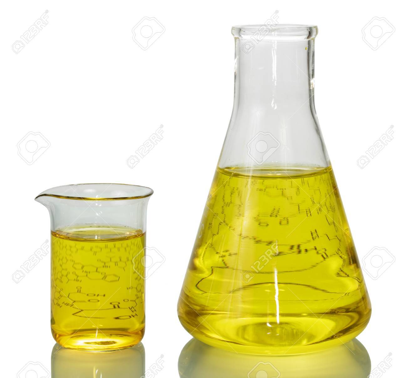 a chemical flask a