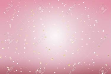 Gold Golden Confetti Pink Background In Modern Style Romantic Stock Photo Picture And Royalty Free Image Image 118501707