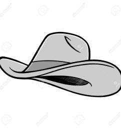 cowboy hat illustration stock vector 71439796 [ 1300 x 1300 Pixel ]