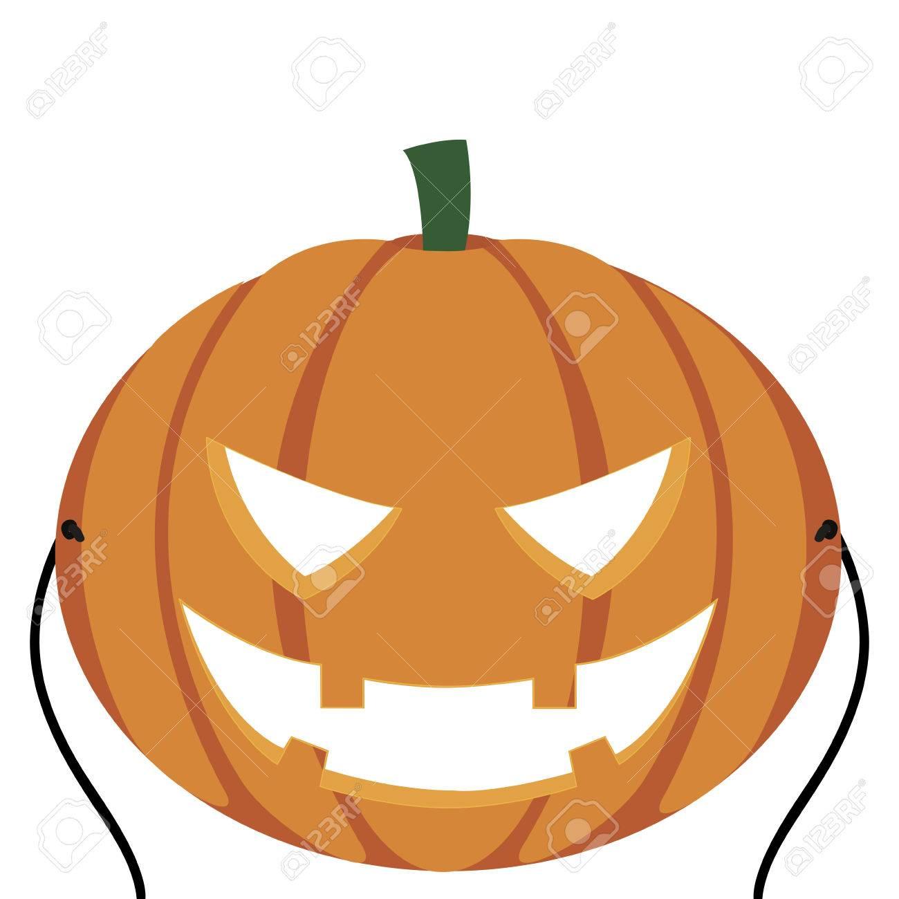 abstract cute halloween mask