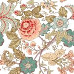 Vintage Flower Pattern Royalty Free Cliparts Vectors And Stock Illustration Image 18962312