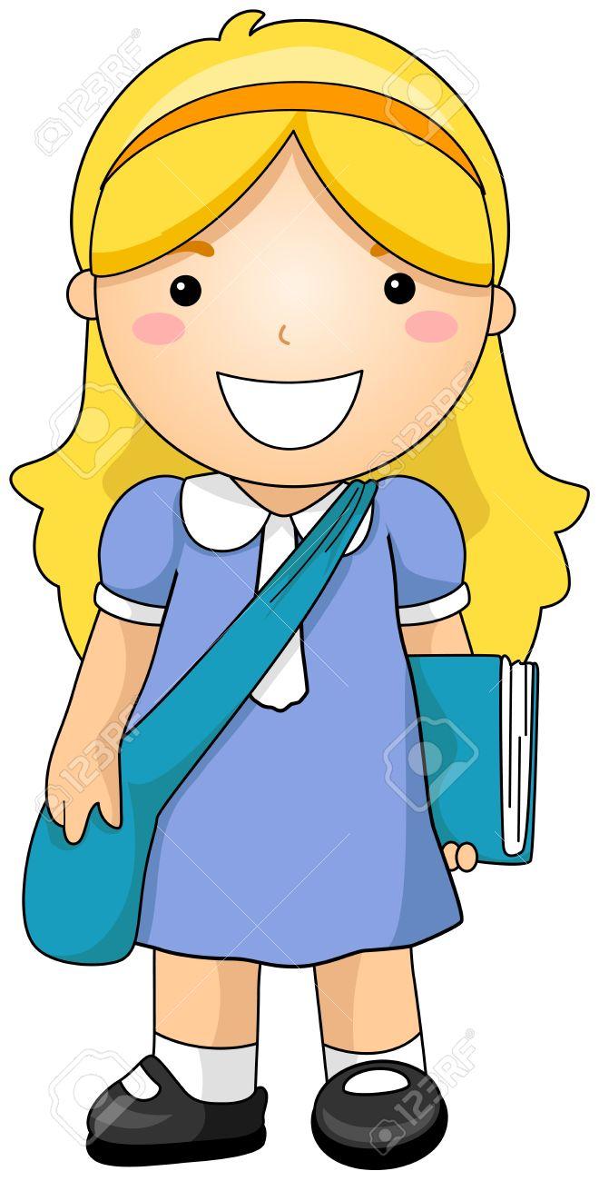 medium resolution of girl student stock photo 6437415