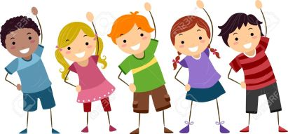 Image result for kids exercise clipart