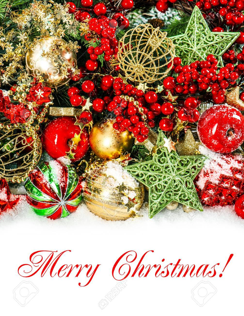 Red Green Gold : green, Colorful, Christmas, Decorations, Gold,, Green., Festive, Background.., Stock, Photo,, Picture, Royalty, Image., Image, 31909773.