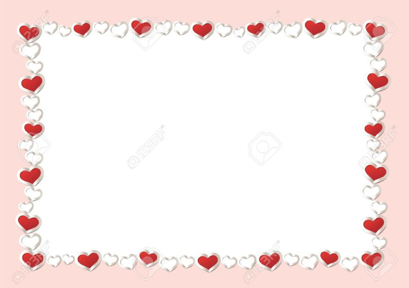 Valentines Day Borders And Frames | Framejdi.org