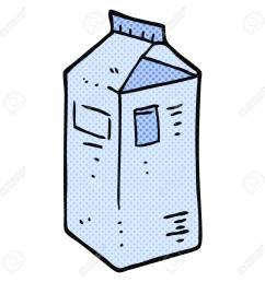 freehand drawn cartoon milk carton stock vector 53437958 [ 1300 x 1300 Pixel ]