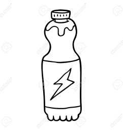 hand drawn soda bottle royalty free cliparts vectors and stock [ 1300 x 1300 Pixel ]