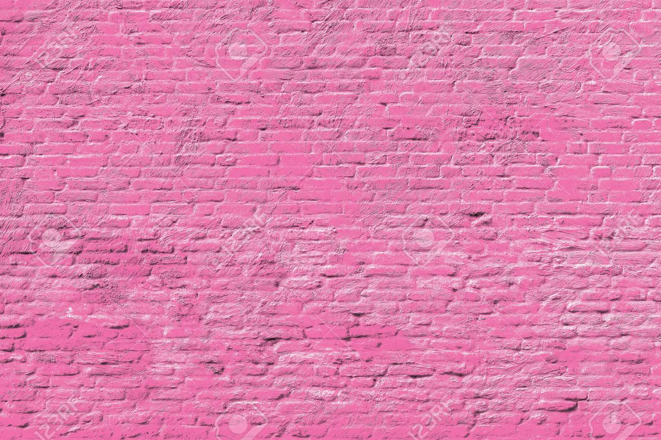 pink brick wall national