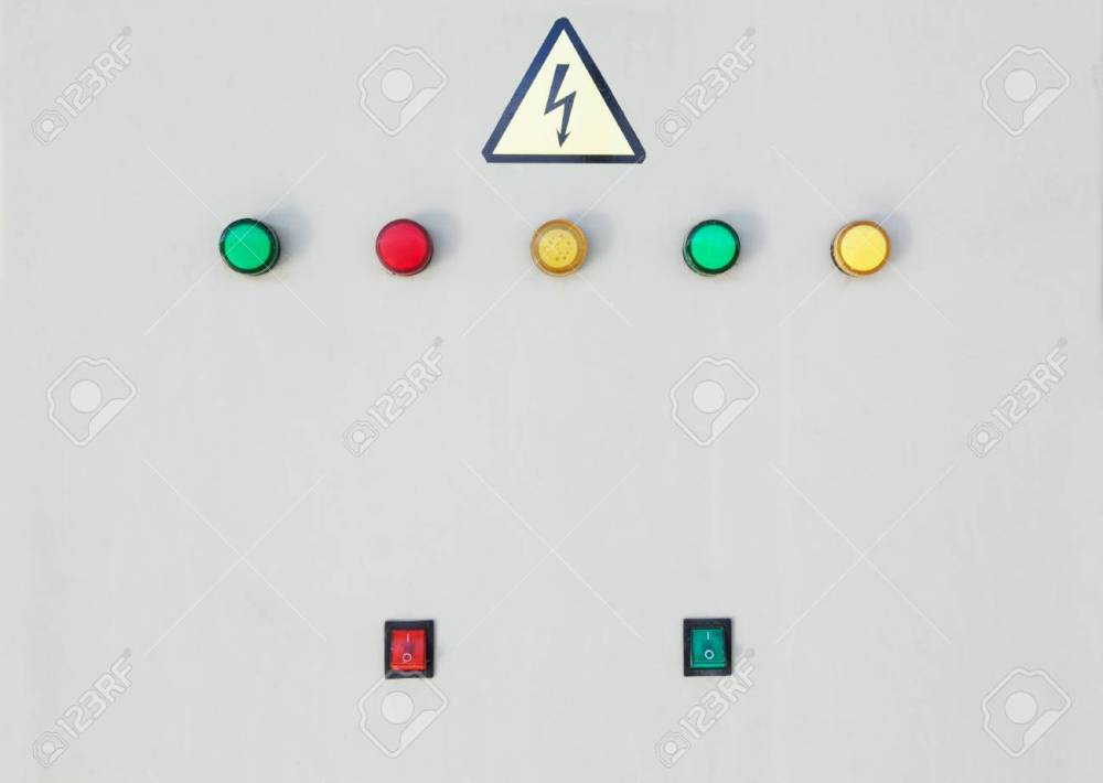 medium resolution of stock photo switching buttons of electric power box