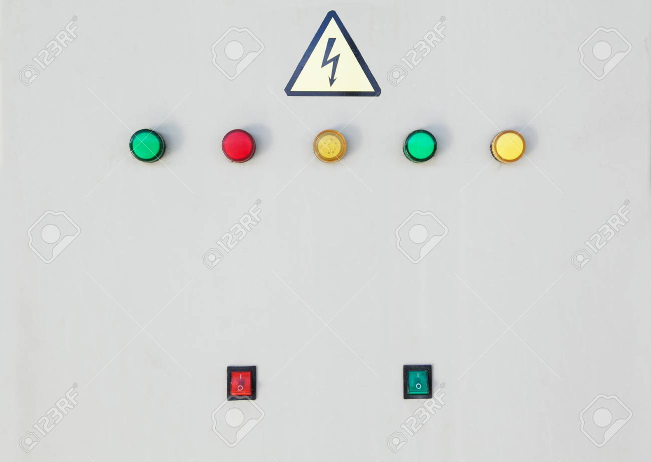 hight resolution of stock photo switching buttons of electric power box