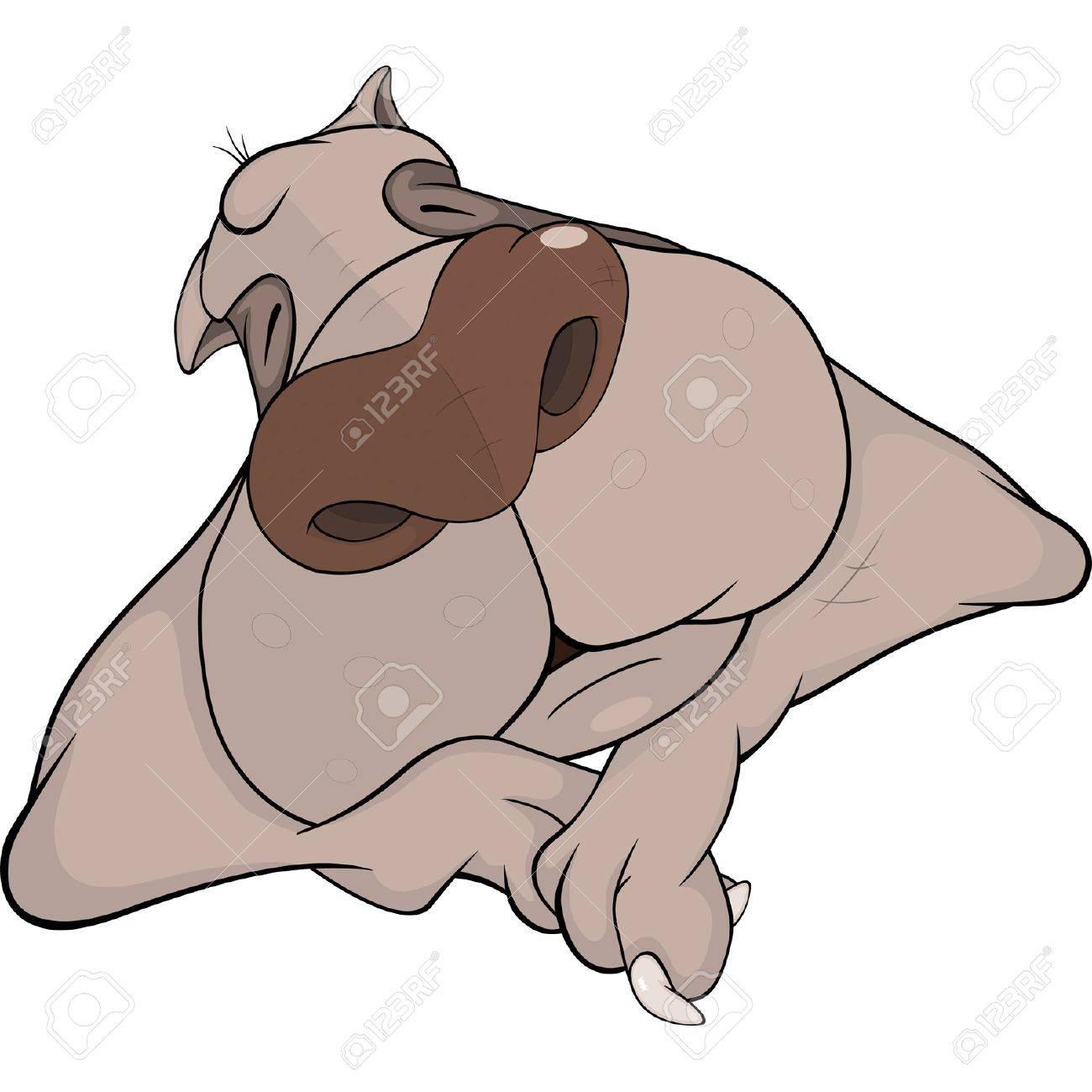 hight resolution of sleeping dog cartoon stock vector 12210427