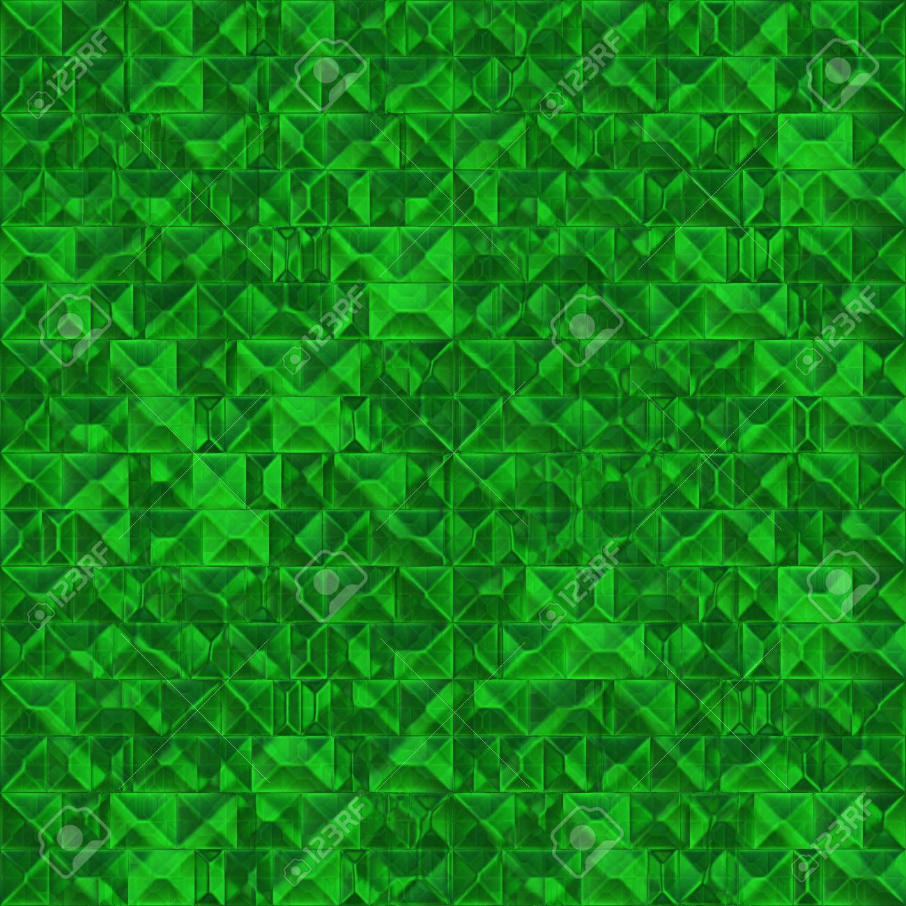 rough emerald crystal seamless