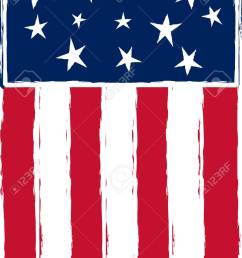 patriotic stylized american flag stock vector 3769919 [ 935 x 1300 Pixel ]