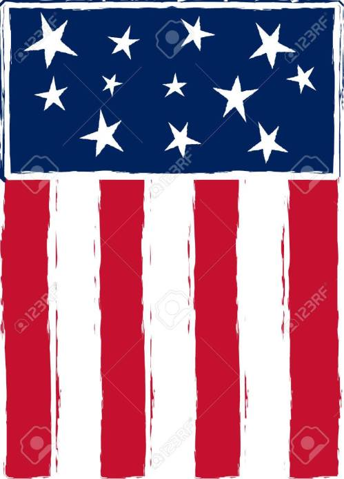 small resolution of patriotic stylized american flag stock vector 3769919