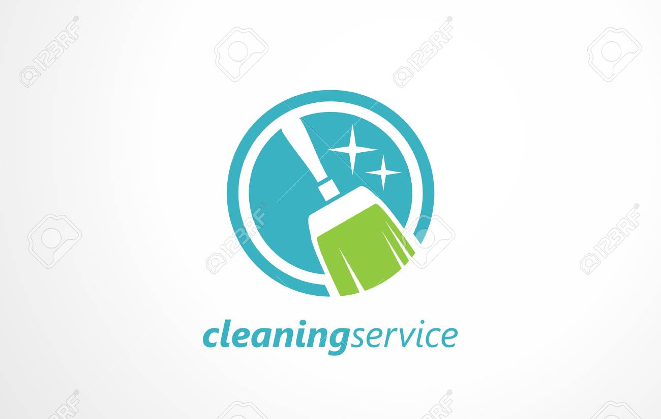 cleaning service logo maintenance