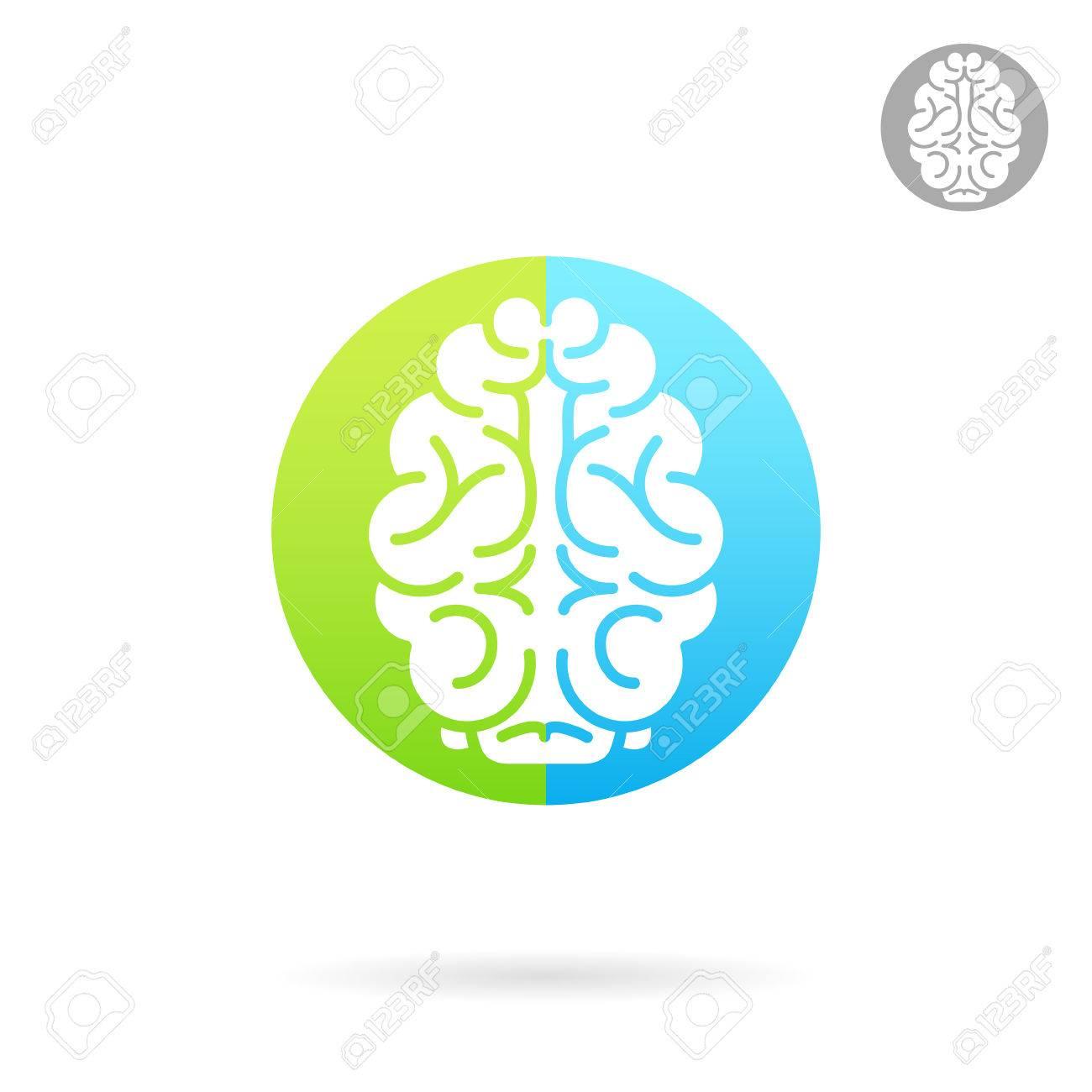 brain medical icon on