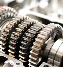 gears from a motorcycle gearbox stock photo 26174849 [ 1300 x 863 Pixel ]