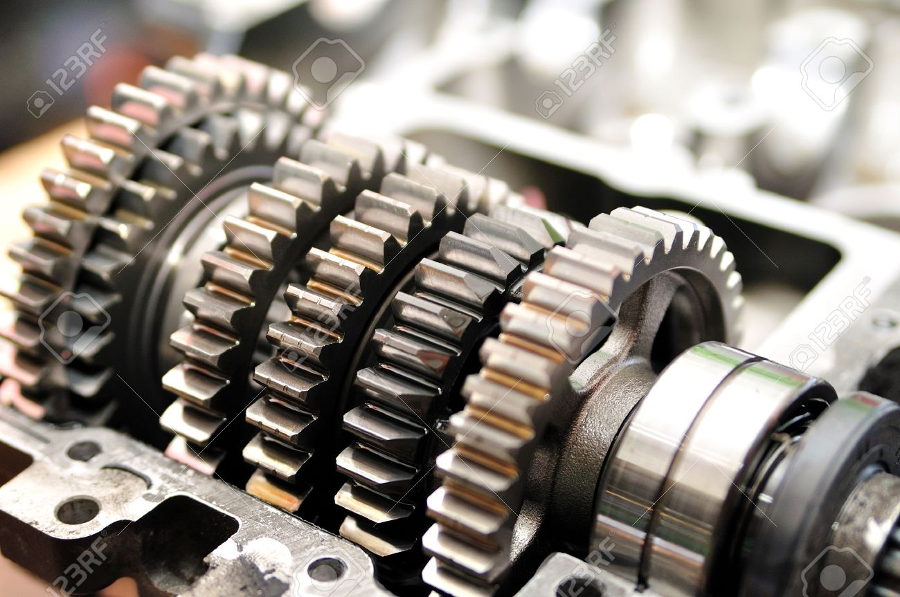 hight resolution of gears from a motorcycle gearbox stock photo 26174849