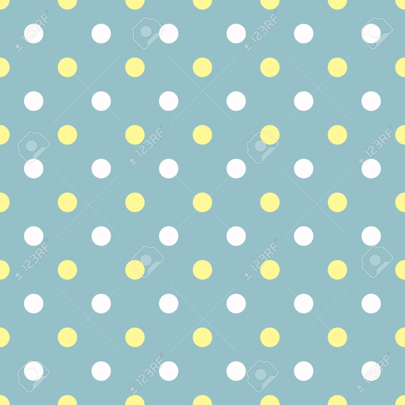 picture Blue Yellow Polka Dots white and yellow polka dots on blue