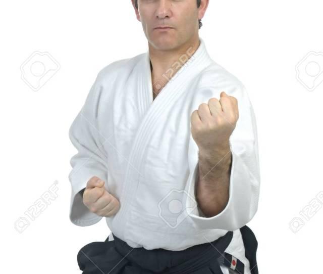 Aikido Master Stock Photo