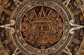 Close View Of The Ancient Aztec Calendar Stock Photo, Picture And Royalty  Free Image. Image 83607145.