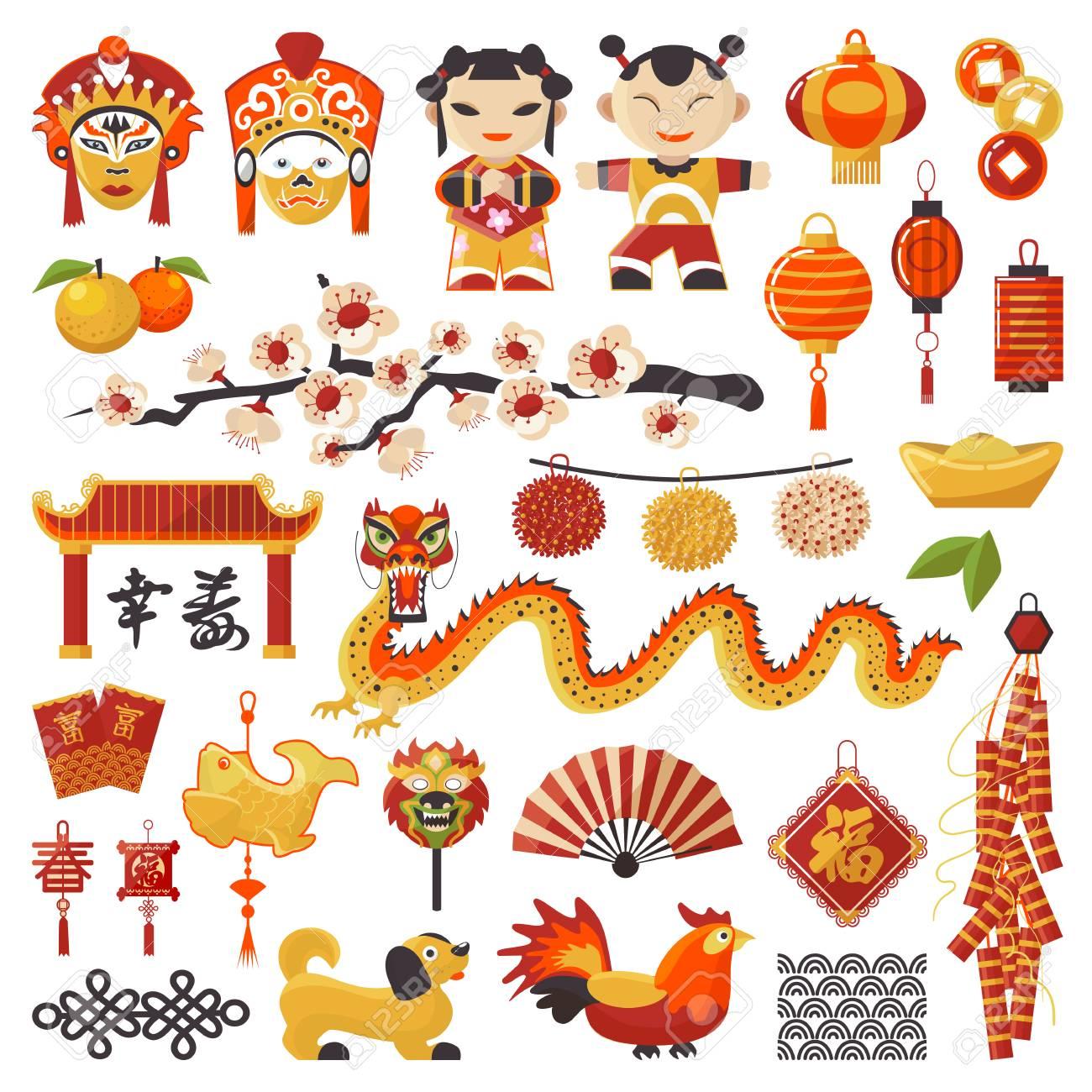 china new year vector