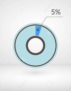 percent pie chart isolated symbol percentage vector infographics circle diagram sign also rh rf