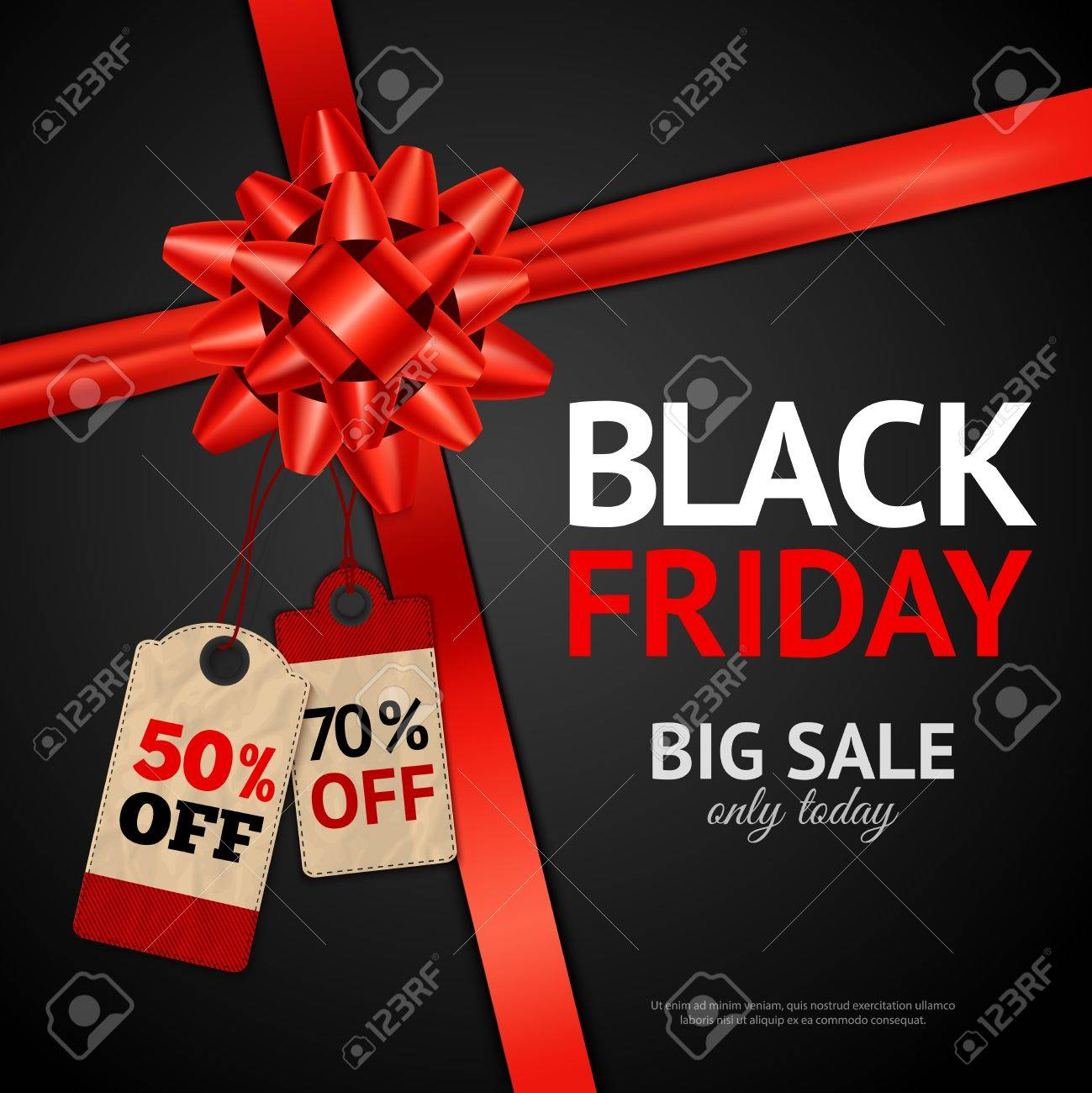 advertisement poster black friday