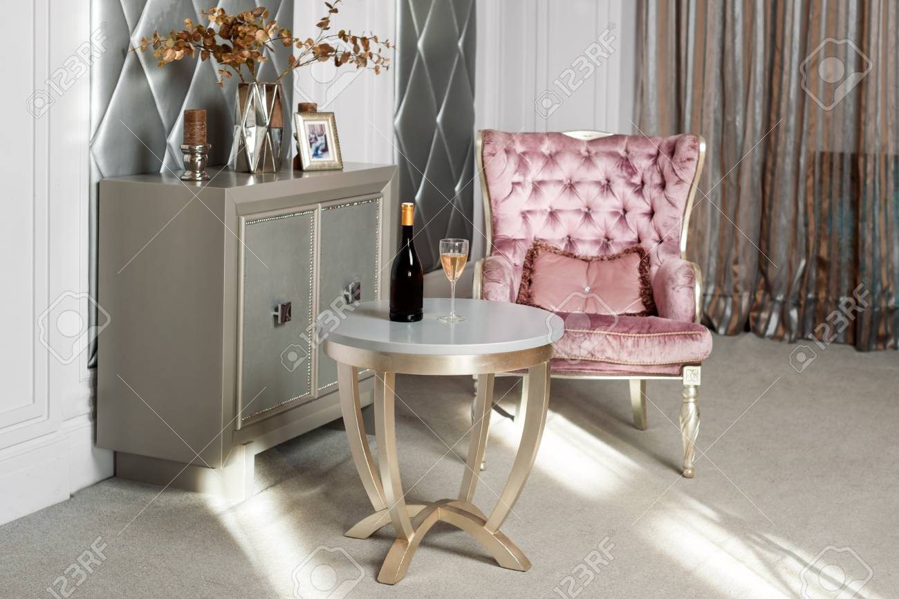 velvet armchair pink cool outdoor folding chairs luxury interior luxurious antique carved furniture classic served