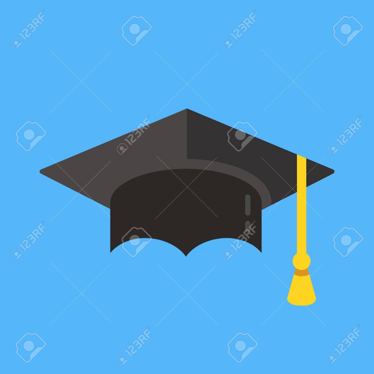 graduation hat icon mortarboard
