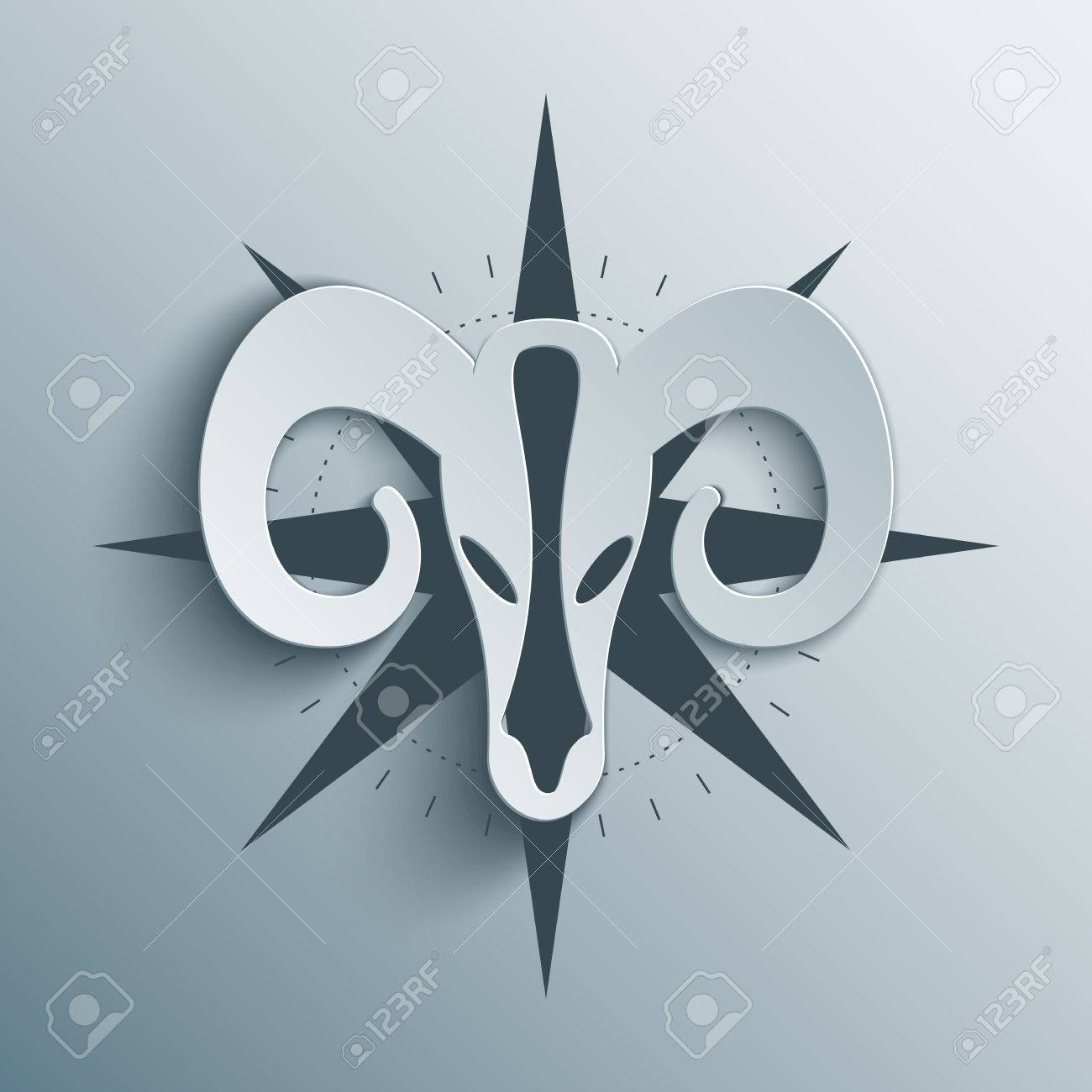 zodiac sign aries with