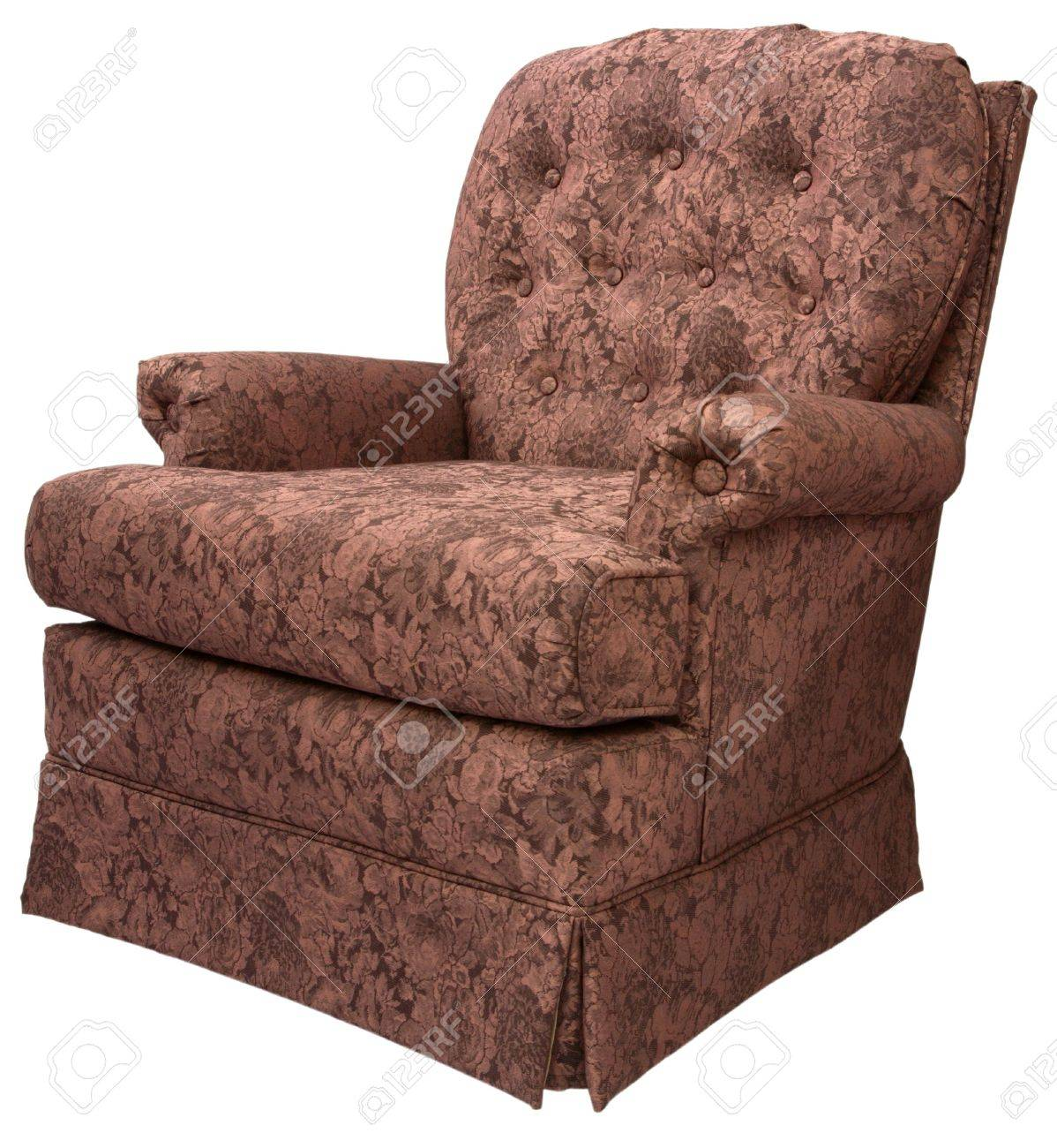 Rocking Accent Chairs Traditional Swivel Rocker Accent Chair In Burgundy Fabric