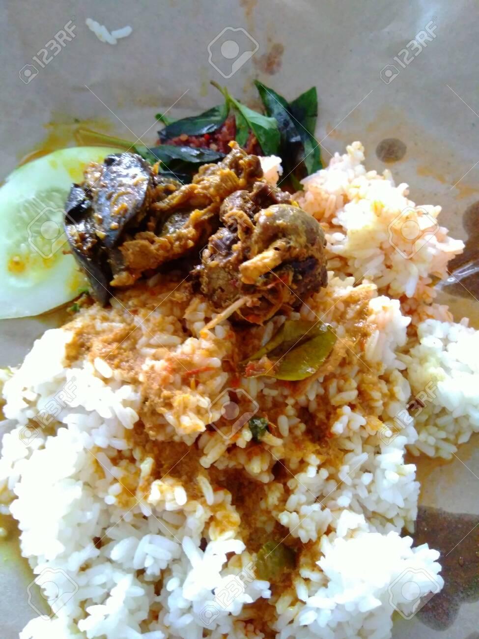 Nasi Uduk Bungkus : bungkus, Bungkus, Rice), Indonesian, Cuisine, Food., Fried.., Stock, Photo,, Picture, Royalty, Image., Image, 140590860.