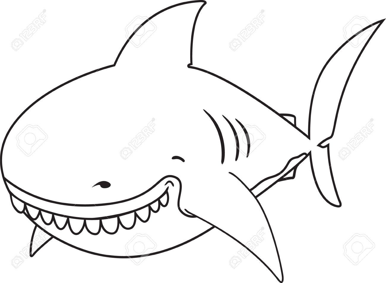 Great White Shark Clipart