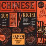 Japanese Sushi Restaurant Menu Vector Chinese Dim Sum Food Flyer Royalty Free Cliparts Vectors And Stock Illustration Image 99144561