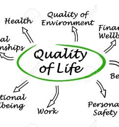 diagram of quality of life stock photo 58468063 [ 1300 x 814 Pixel ]