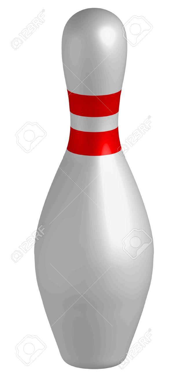 bowling pins vector illustration