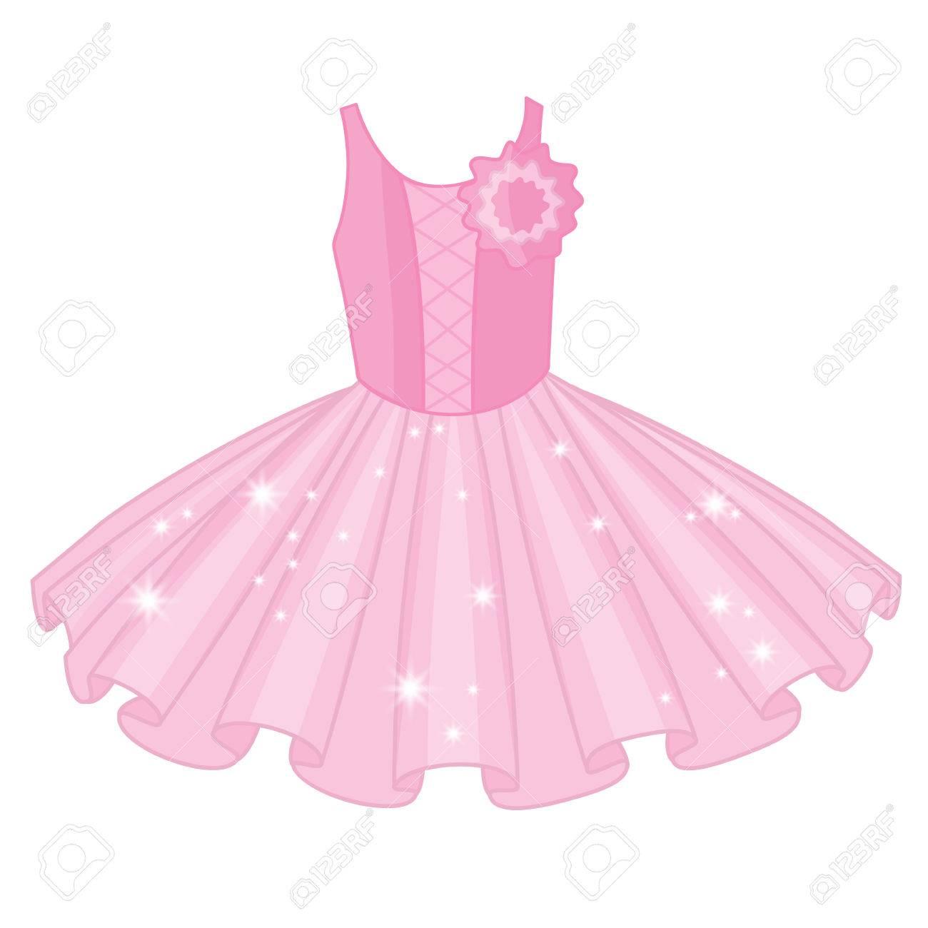 vector soft pink tutu