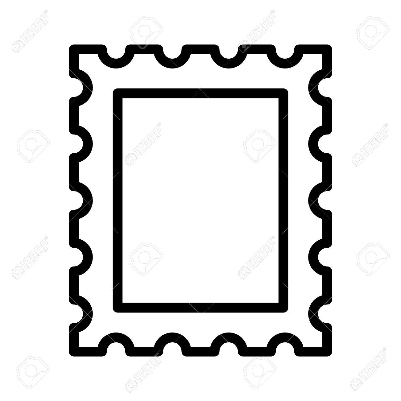 postage stamp or letter