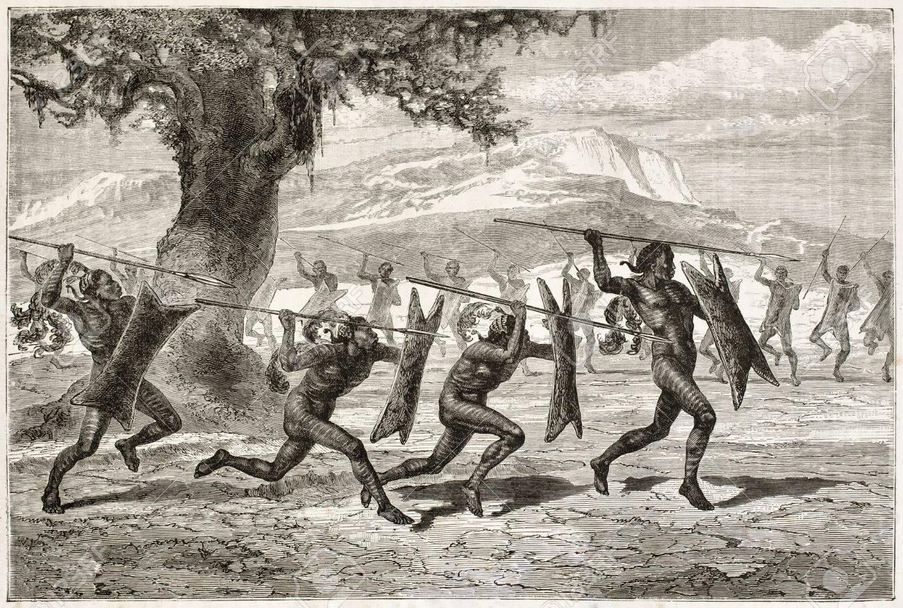 Znalezione obrazy dla zapytania primitive warfare