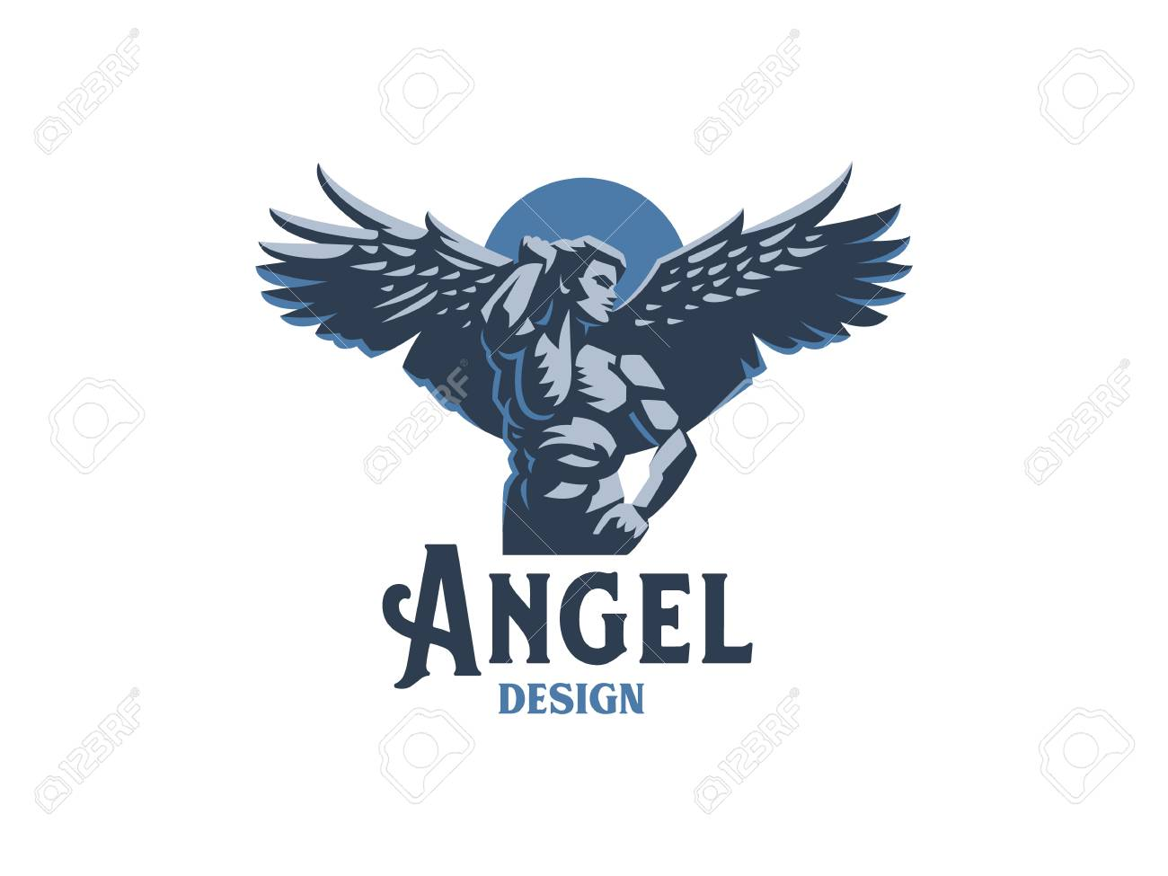 angel man with wings